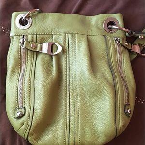 Light green B. Makowsky purse
